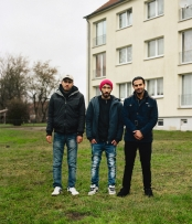 Mustafa, Osama, Salim - Lentzke