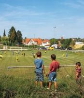 Fußballplatz - Felchta